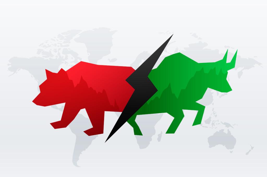 bull and bear trading